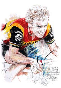 Klaus-Peter Thaler Team Raleigh by Horst Brozy
