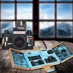 #GiftBuzz - Lomo Konstruktor DIY SLR #Camera | LOMOGRAPHY The Konstruktor DIY Kit is the world's first 35mm plastic SLR camera and you can assemble it yourself.