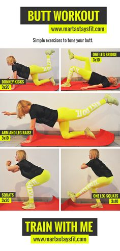 The perfect butt workout. My favourite!