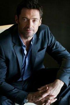 Hugh looking quite captivating