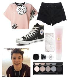 """""""Concert with Shawn"""" by fangirlsfandom ❤ liked on Polyvore featuring MSGM, Witchery, Lancôme, T By Alexander Wang, Converse, BERRICLE, women's clothing, women's fashion, women and female"""