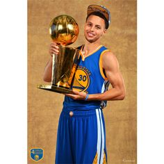 Golden State Warriors fan? Prove it! Put your passion on display with a giant Stephen Curry 2015 NBA Champion Mural Fathead wall decal!