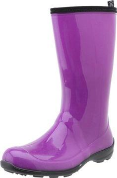 Totes Puffer Black Waterproof Rain Boots Shoes for Women 9 Medium ...