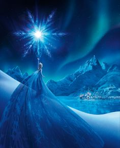 """""""Elsa's Transformation"""" - Limited Edition Giclée on Canvas 295 piece hand-numbered edition  http://www.acmearchivesdirect.com/product/WDFRZ04A/Elsa%27s-Transformation.html?cid= Limited Edition Giclée on Paper 195 piece hand-numbered edition http://www.acmearchivesdirect.com/product/WDFRZ04P/Elsa%27s-Transformation.html?cid="""
