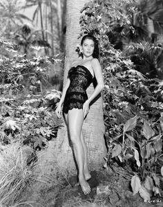 Ava Gardner in The Little Hut (1957)