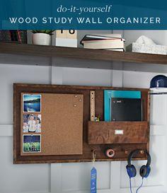 20DIY Wood Study Wall Organizer