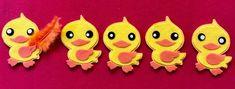 Felt-tastic Flannelboard Funtime: Five Kawaii Ducks That I Once Knew