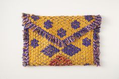 Eco Friendly Ethical Bohemian Macrame Fair Trade Clutch Leotie Lovely