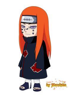 Render Chibi Pein Ningendo by on DeviantArt Anime Chibi, Anime Naruto, Naruto Vs Sasuke, Naruto Cute, Itachi Uchiha, Nagato Uzumaki, Susanoo, Boruto, Chibi Characters