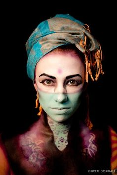 Halloween idea | Makeup by Brett Dorrian