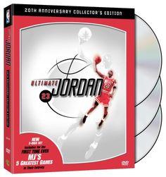 NBA: Ultimate Jordan (20th Anniversary Three-Disc Collector's Edition)