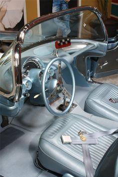 1958 Corvette interior