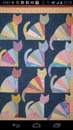 Awesome Cat Quilt