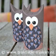 Afbeelding van de traktatie Uiltje http://www.traktatie-maken.nl/traktatie/Uiltje