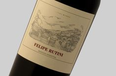 The new wine label of FELIPE RUTINI. Rutini Wines