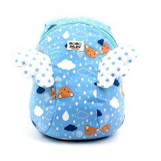 5c345a19e62e MOMOAILEY Momo Rain Wing Joyful Backpack Safety Harness Toddler Bag  Licensed  MOMOAILEY