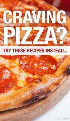 Healthier pizza alternatives!
