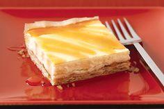 Baklava au fromage sucré -------------------Saviez-vous que vous pouvez faire des baklavas à la maison? Suivez notre recette et vous verrez comme ce dessert classique est facile à faire de A à Z.