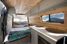 If the van-life is unique to the individual then in the same respect shouldn't your van be individualized to you! What would your Townsend sprinter conversion look like!? This is our most recent conversion: Our interior built on a 4x4 @mercedesbenz sprinter 144 model. #VanLifeCa #townsendtraveltrailers : @christian_adam_ @joe.kinder @vanlifecalifornia @sprintervanlife by townsend_travel_trailers