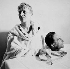 Man Ray. Photograph of Mary Reynolds and Marcel Duchamp.