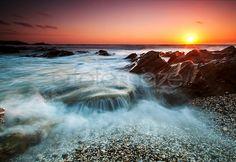Nun Cove Sunset