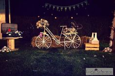 bicicleta para estacion de fotos