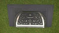 Cast Iron Fireplace Canopy Replacement part for traditional cast iron fireplace