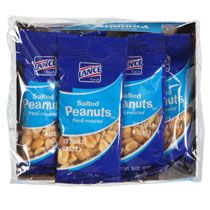 Bulk Lance Salted Snack Peanuts, 5-ct. Packs at DollarTree.com