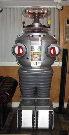 "the Robot from Lost in Space. At the time, it seemed so ""high tech"" and ""space-aged""  !!"