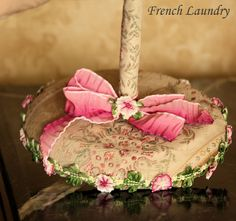 A MUST visit blog...the ribbon work examples are to die for!