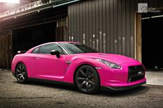Pretty in Pink #Nissan #GTR:  In honor of Breast Cancer Awareness month!