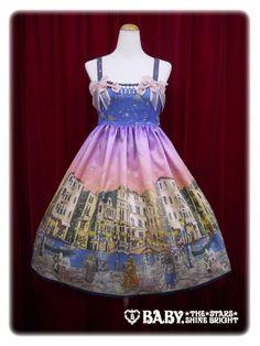 Alice and the Pirates Starlight Carnevale JSK Ⅱ ///  ¥30,024 /// Bust:  83-110cm Waist:  80-105cm Length:  93cm Under bust: 80~105cm