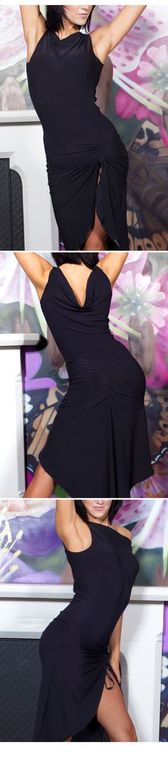 Chrisanne Fishtail Latin Dance Dress
