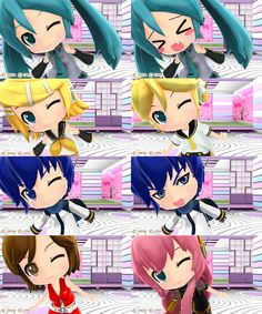 "Screen shots from ""Project mirai"" (3DS)"