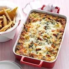 Hot Collards and Artichoke Dip Recipe from Taste of Home -- shared by Billie Williams-Henderson of Bowie, Maryland