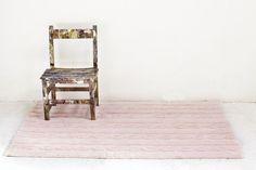 Washable rug Trenzas Pink / Alfombra lavable Trenzas Rosa  Lorena Canals