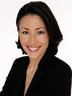 Ann Curry - Curry was born in Guam to Bob Curry, an American from Pueblo, Colorado who is of Cherokee, French, German, Scottish and Irish descent, and Hiroe Nagase, who is from Japan.