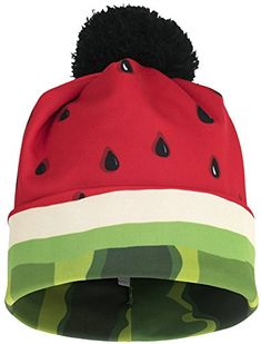 Ababalaya Unisex Print Skullies & Beanies with Pompon,Cat Jeans Watermelon Patch, Watermelon Decor, Watermelon Designs, National Watermelon Day, Creative Class, One In A Melon, Best Fruits, Sweet Girls, Pretty Outfits
