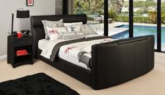 Tango TV Bed | White | Bedroom Furniture | Bedshed
