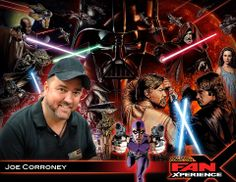 NEW GUEST ANNOUNCEMENT: Please welcome Joe Corroney to 2014 Salt Lake Comic Con #FanX! Joe has been providing Lucasfilm with official #StarWars artwork for books, games, trading cards, comic books, posters and magazines since 1997. Other comic books he's illustrated include #TrueBlood, #GIJoe, Fallen Angel, 24: Nightfall, #DoctorWho, Angel and Spike Vs. Dracula, Farscape, Crimson Dynamo for Marvel Comics and many others.