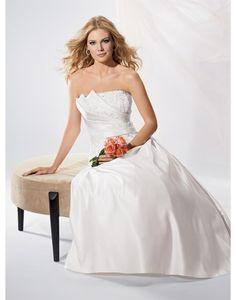 Printemps 2014 Sans bretelles Printemps Robes de mariée Designer