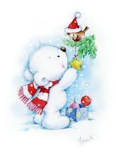 Adornos de Navidad - Marina Fedotova