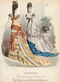 1876 ball gowns