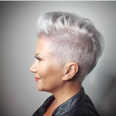Silver Fox Hair Goals✂️✂️✂️ @hair_by_marlo