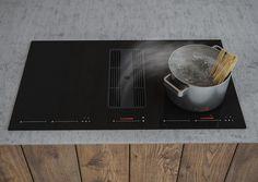 Model: SIRIUS SDDH3 Indukční deska technologie G5, které je součástí odsávání s podtlakovou komorou. Ta vytváří rychlost proudění vzduchu až 9metrů za vteřinu. Range Hoods, Things To Come, 20 Years, Pride, Model, Design, Technology, Simple Lines, Kitchen Range Hoods