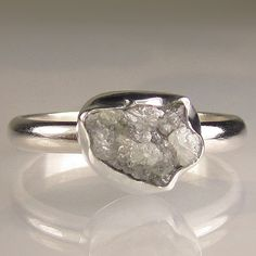 ADORE!!  I would have LOVED a rough-cut diamond for an engagement ring.