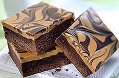 Peanut Butter-Swirl Brownies recipe