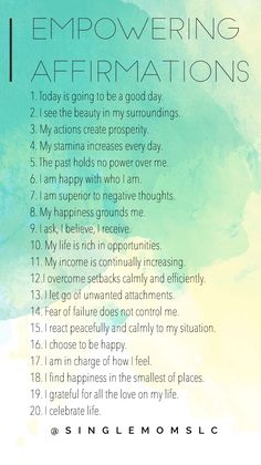 My advice is to say at least 10 to yourself daily. I& going to start sayin. - Affirmations for Depression and Anxiety - My advice is to say at least 10 to yourself daily. I& going to start saying them all - Daily Positive Affirmations, Positive Affirmations Quotes, Morning Affirmations, Affirmation Quotes, Positive Thoughts, Positive Quotes, Motivational Quotes, Inspirational Quotes, Gratitude Quotes