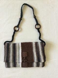 Вязание спицами. Сумки Handmade, Bags, Fashion, Handbags, Hand Made, Moda, La Mode, Dime Bags, Craft