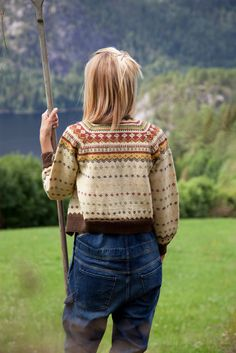 Livs Lyst: turnélivet starter i dag Fair Isle Knitting Patterns, Fair Isle Pattern, Knitting Blogs, Knitting Designs, Knit Patterns, Knitting Projects, Baby Knitting, Crochet Projects, Crochet Woman